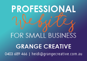 For professional websites contact Grange Creative