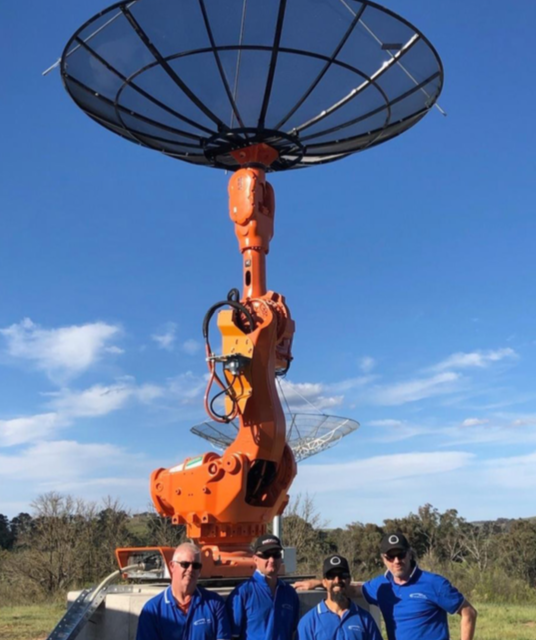 Pathfinder spacecraft successfully tracked from Cingulan base in Yass