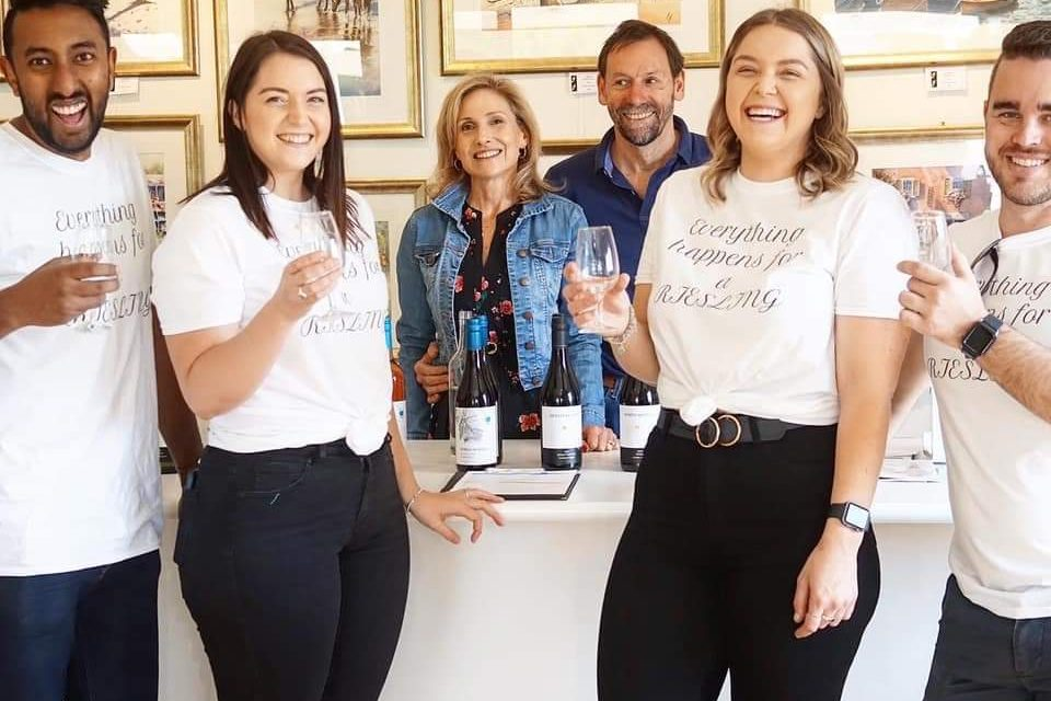 The experience is more at a great cellar door