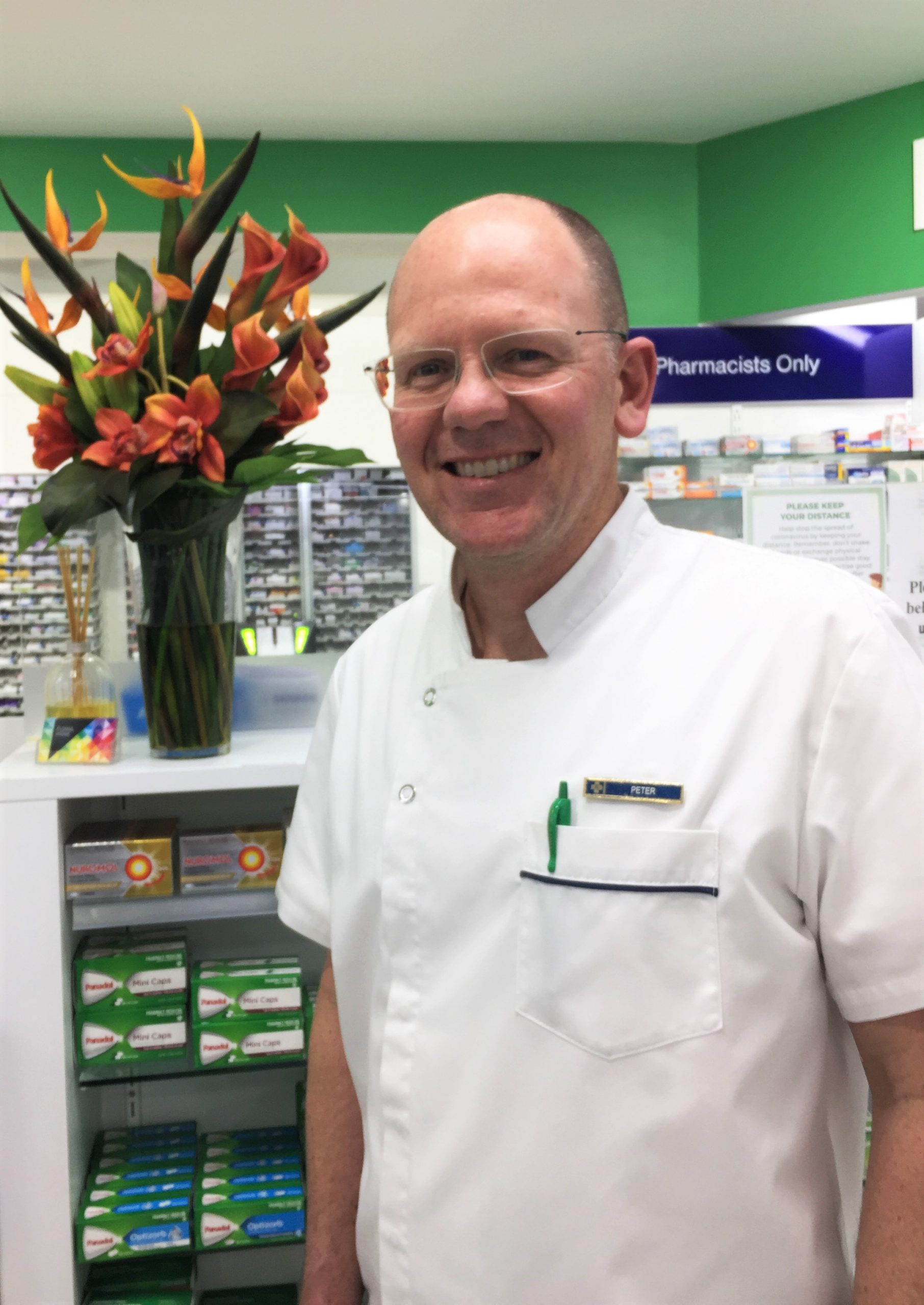 Business Owner and Pharmacist Peter Miller is always read to assist customers and with prescriptions changes coming, his friendly and experienced team are here for you.