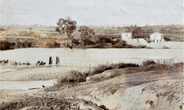 Concern the banks of the Yass River may be undermined if 1876 weir fails