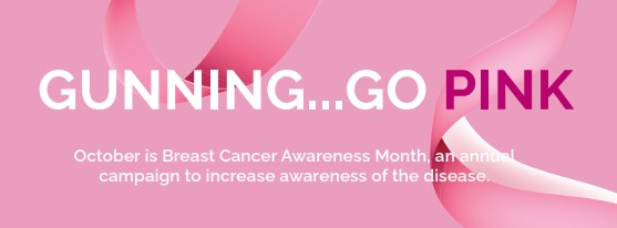 Dress in pink and head to Gunning this Friday!