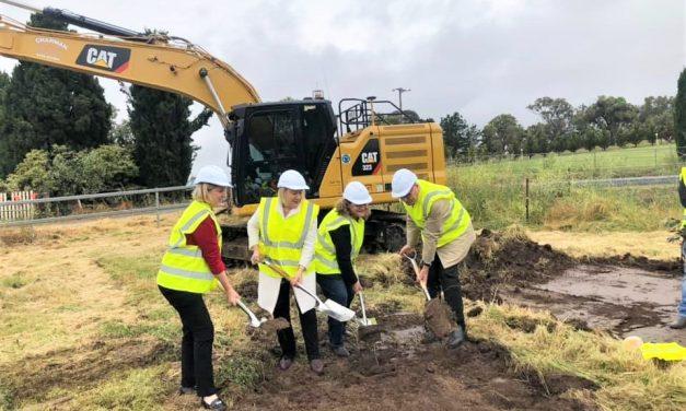 Finally – Barton Highway duplication 'sod turned' today