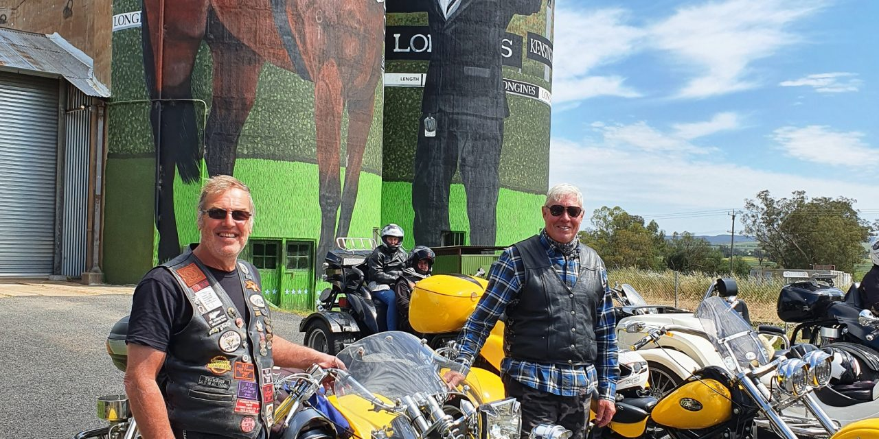 Crikey! The trikes are coming to Yass!
