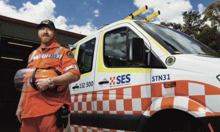 Sutton SES volunteer's uniform enters National Museum & coincides 'Momentous' website launch