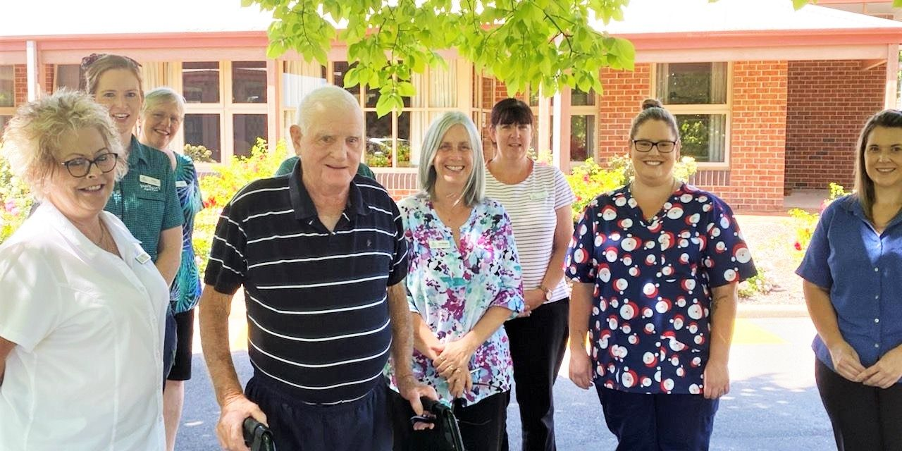 Aged care excellence in Yass during COVID