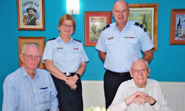Century celebrations for Yass war veteran and Air Force