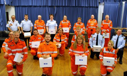 Storm, Fires, Floods – SES are there for us