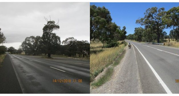 Before and after – Yass Valley Way