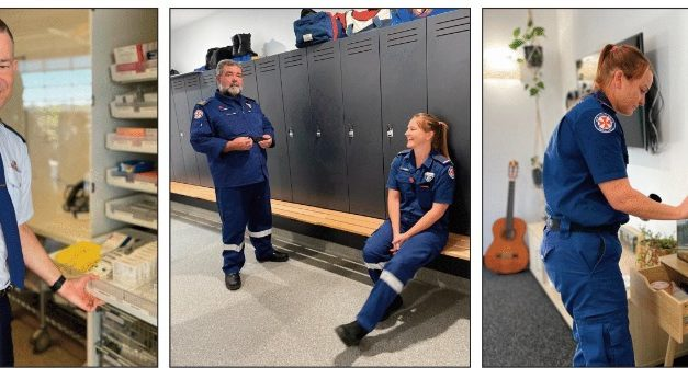 Room to grow – Yass Ambulance team take us inside their 'home away from home'