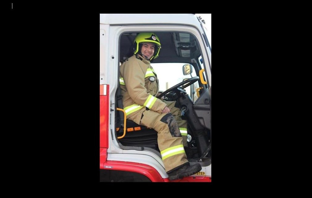 """""""I decided I was never turning back!""""- Ben Bowman on firefighting"""