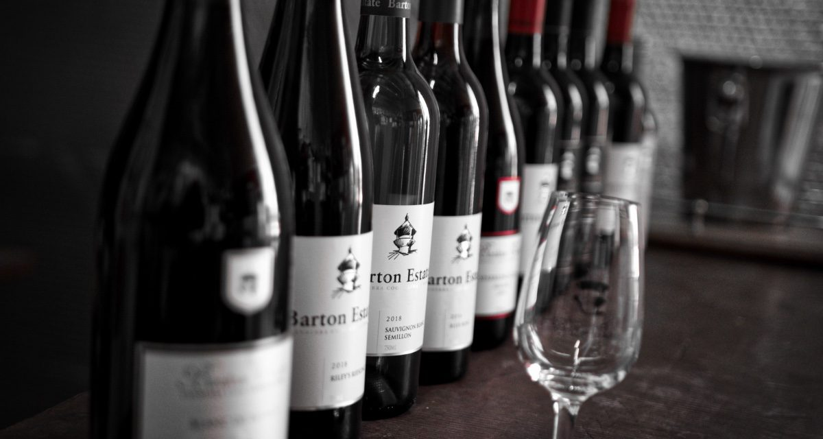 """""""A waft of fragrant violets from the Viognier"""" – enjoy our sixty second swirl of Barton Estate's Georgia Shiraz"""