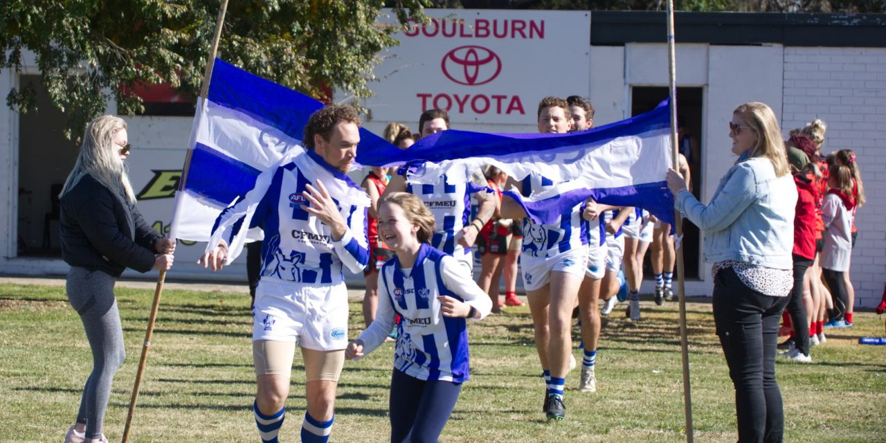Roos hold Goulburn scoreless, as Eagles go down in huge loss to ADFA