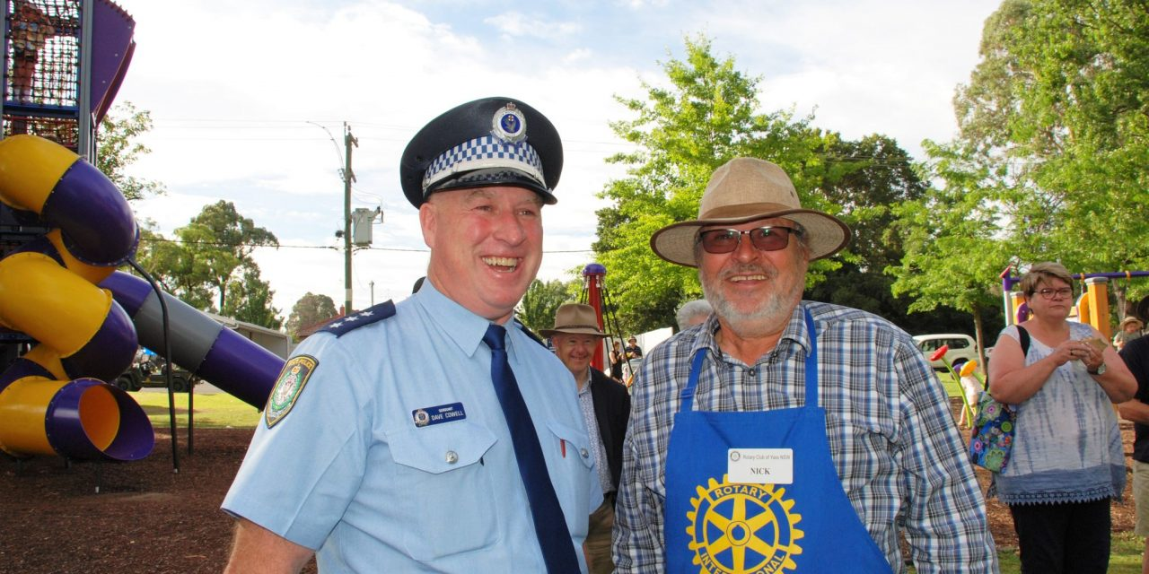David Cowell Officially Becomes Yass' Officer in Charge