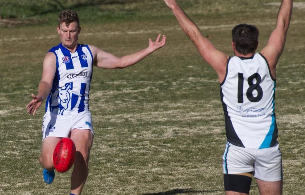 Roos grind out another win, as winning streak extends to five