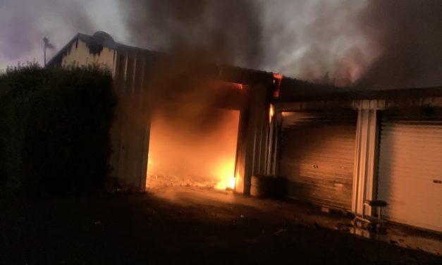 Explosive fire in Murrumbateman proves challenging