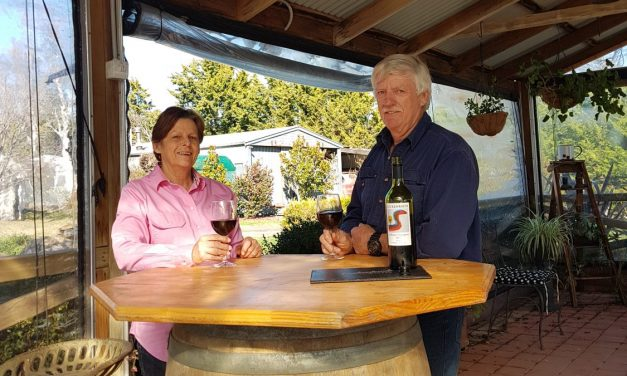 'Ripe black fruit aromas including blueberries, black currants and dark plums…' Luckenbach our wine of the week