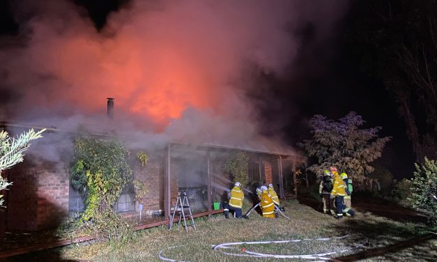 Elderly resident seriously injured and two homes devastated by fire