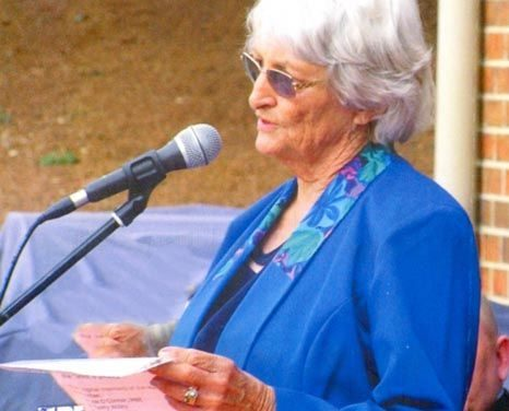 Gwen Warmington awarded OAM