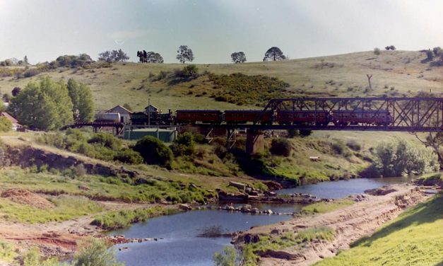 Alf and the old Yass trains