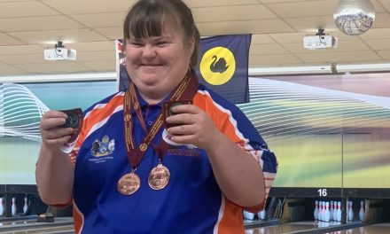 Four medals for Leita Neuhaus at the National Tenpin Bowling Championships