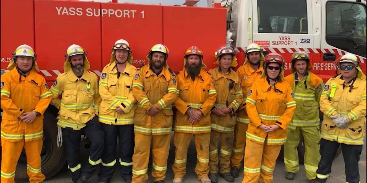 Wear it Yellow Day for our RFS volunteers