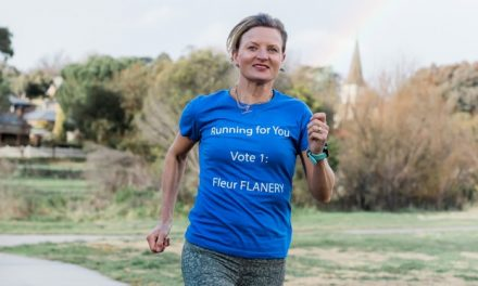 """Fleur Flanery """"running"""" for Yass Valley Council"""