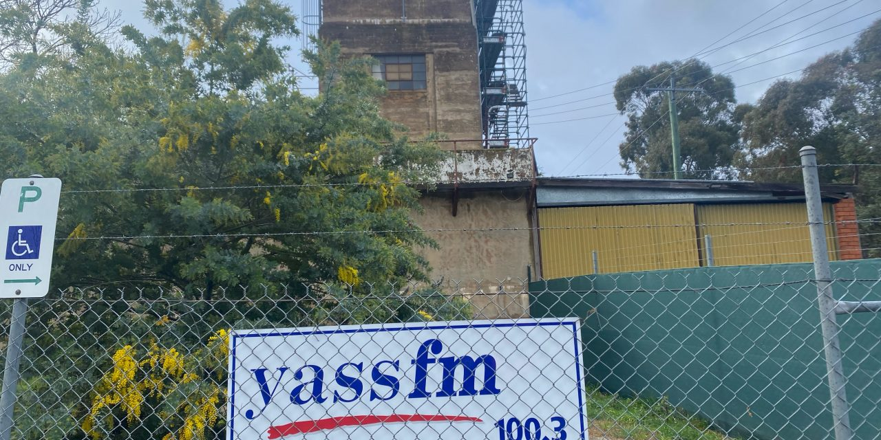 Yass FM Vacates Old Water Treatment Building due to safety concerns