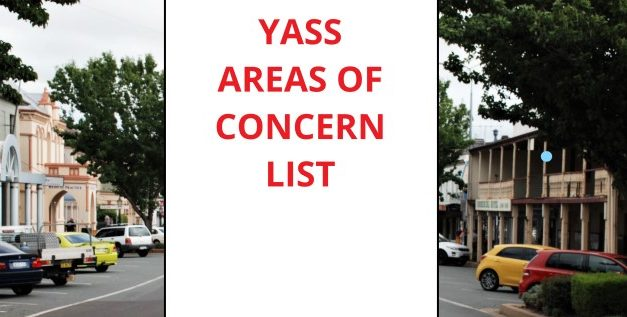 Venues of concern list for Yass released as positive covid case pushes us back into lockdown